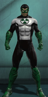 Green Lantern Kyle Rayner (DC Universe Online) by Macgyver75