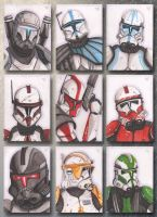Clone Troopers by ChrispyDee