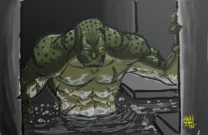 Killer Croc by HASHbrown-TM