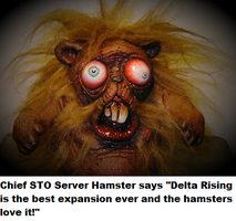 zombie hamster DR by drowrulesupreme