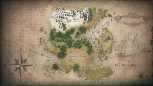 Minecraft RPG World Map by Lil-Lintu
