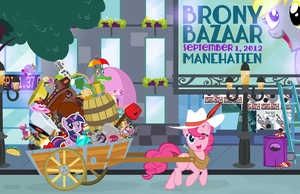 Brony Bazaar Poster by PixelKitties