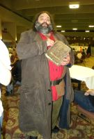 AD 2012 - Hagrid by The-Emerald-Otter