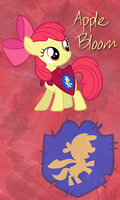 Apple Bloom Win7 Phone BG by TecknoJock