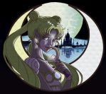Princess Serenity for Mewmiao. by amism