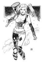Harley Quinn Baltimore sketch by deankotz