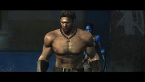 Chris Redfield Fanservice 12 by favorites1
