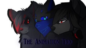 The Animation Trio by Zelarhie