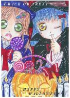 ..HAPPY HALLOWEEN.. by ladybluematrix