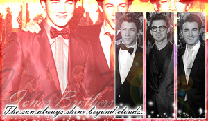 Jonas Brothers in red by suppressed-desires