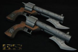 Miss Fortune Guns, Road Warrior skin by GS-PROPS