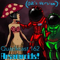 Quackcast-162, Arsteroids! by ozoneocean