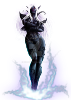 Drow Mage by Herisheft