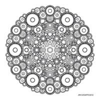 Mandala drawing 37 by Mandala-Jim