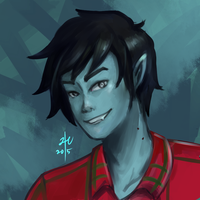 Marshall Lee by sugarcoffeecup