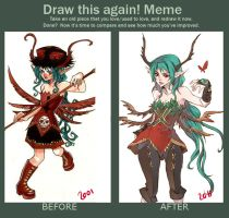 draw this again meme by rann-poisoncage