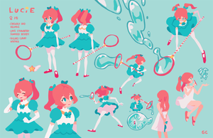 lucie character sheet by genicecream