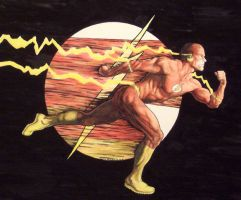 The Flash by Meador