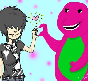when barney turns emo EMO_KIDD_LUVV__S_BARNEY_by_Ivebutt