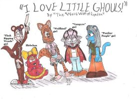 I Love Little Ghouls by weirdwolfoflondon
