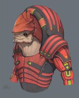 Wrex by Floatharr