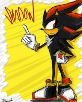 Shadow the Hedgehog by kawaiistar4