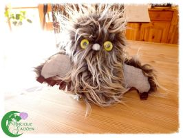 FOR SALE: Fluffy the Terrible by AntiqueGarden