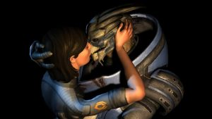 Who Says Turians Don't Kiss? by ImperatorAlicia
