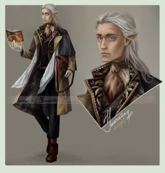 Adopt auction - [CLOSED] - Aristocratic elf by Yearniing-And-Heroin