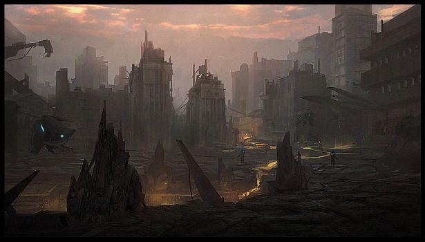 abandoned city by Joshk92