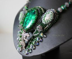 Amazonia necklace close up by fion-fon-tier