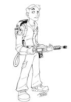 KidSTUFF: Ghostbuster Dan by KidNotorious