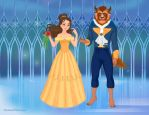 Beauty and the Beast by M-Mannering