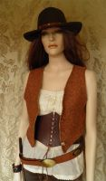 Bandidas inspired waistcoat PCW7-1 by JanuaryGuest