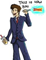 This is how you sonic by traveling-adventurer