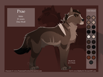 Prae Ref Sheet - Commission by RadleyGL