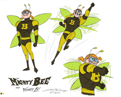 The Mighty Bee by ryuuseipro