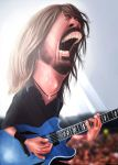 Dave Grohl by lepeART