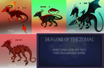 Dragons of the Zodiac: ADOPTABLE AUCTION! by Lythronax