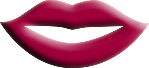 Lips Red Png Clipart by clipartcotttage