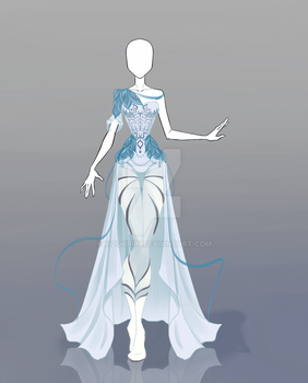 Blue Outfit Resell by @Silverangel907 by RSNVaine