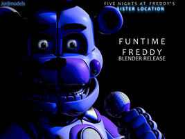 Funtime Freddy V5 Blender Release by jorjimodels