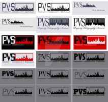 PVS Logo evolution by misterzubair