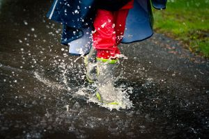Puddle Junping by snoopersen