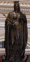 Statue : Queen by Deaths-stock