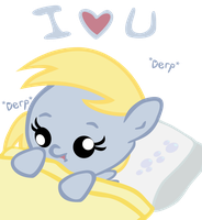 Baby Derpy Loves You by jrk08004