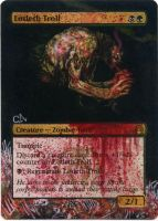 MTG Altered Card_Lotleth Troll by GhostArm1911
