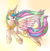 Princess Celestia by Aniritak