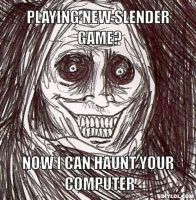 Slender Game by GoddessofSong
