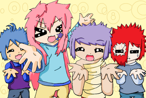 Lucky star - My characters by SeppukuR